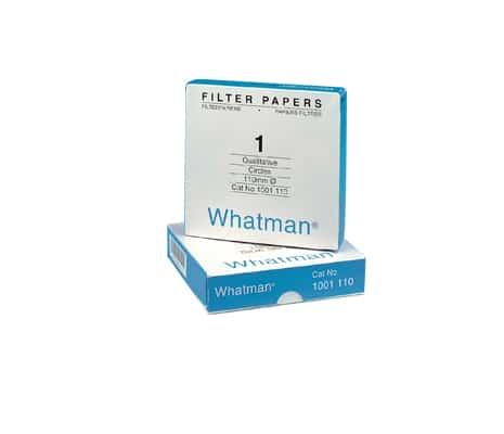 กระดาษกรอง 12.5 ซม. Whatman #1