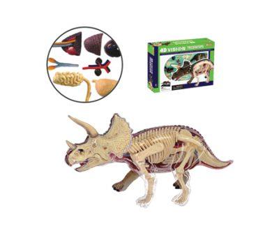 4D Vision หุ่นไดโนเสาร์ Triceratops