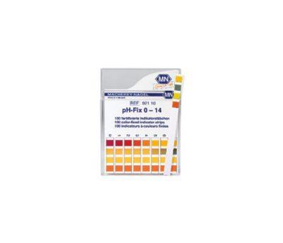 กระดาษ pH 0-14 เยอรมัน (100 แถบ)