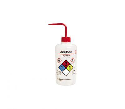 ขวดบีบ Acetone 500 มล. (อเมริกา)