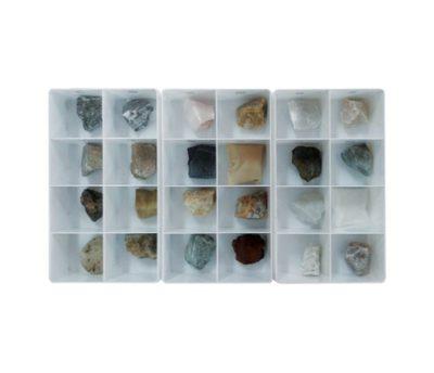 ตัวอย่างหิน-แร่ 24 ชนิด (ก้อนใหญ่)
