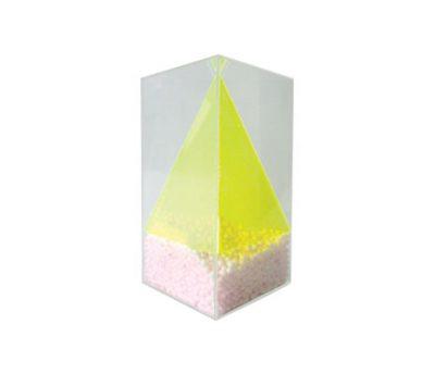 ชุดปริซึมฐานสามเหลี่ยมด้านเท่าภายในพีระมิด