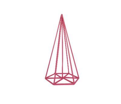 โครงพีระมิดฐานหกเหลี่ยม