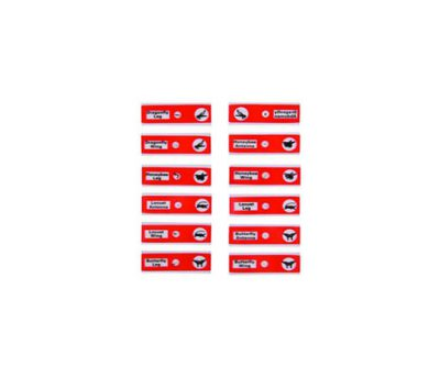 ชุดสไลด์ เรื่องแมลง (สีแดง)