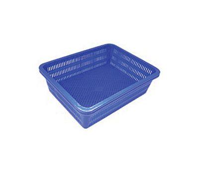 ตะกร้าพลาสติก กลาง (32x40 ซม.)
