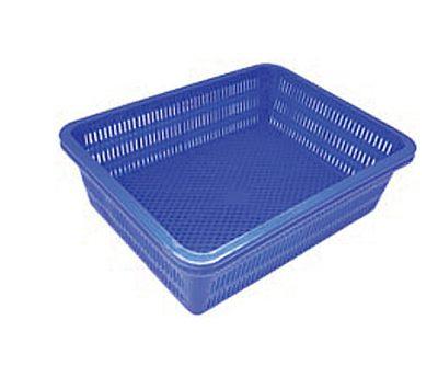 ตะกร้าพลาสติก ใหญ่ (35x45 ซม.)
